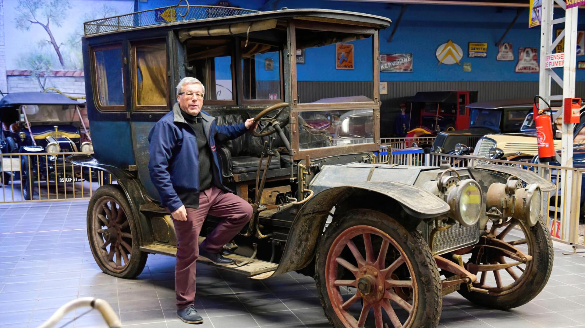 Rochet-Schneider 1905 - Didier Carrayon - Car Museum