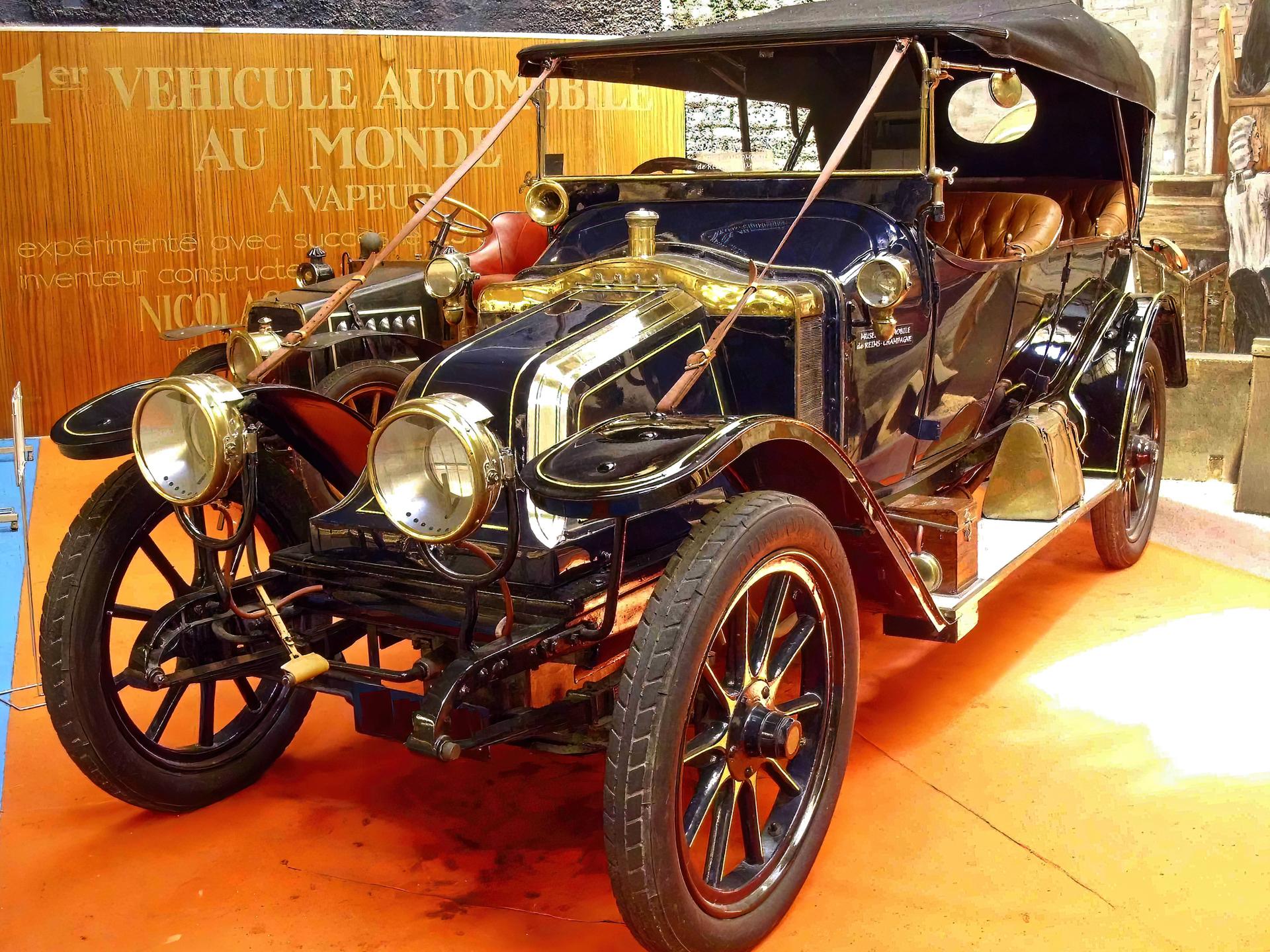 SCAR 1908 - Automobile Museum Reims Champagne