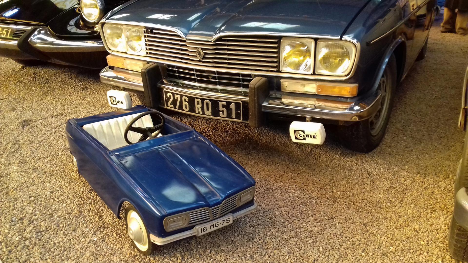 Renault 16 à pédales Reims